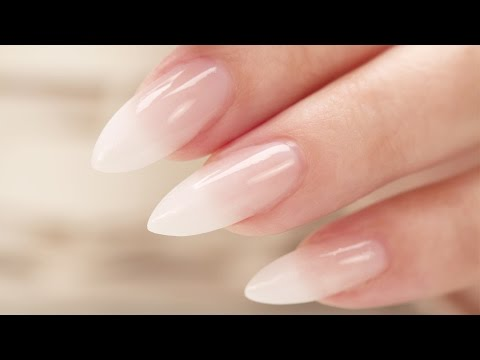 nail art - fantastico french sfumato