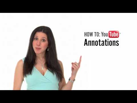 annotations - What are YouTube Annotations? In this YouTube Series, your Web Video Pro, Catherine-Gail Reinhard, is here to help with insider tips and practical know-how. ...