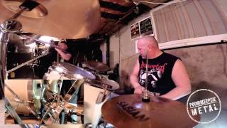BLAST FURNACE Chris Baisley - Call To Power (Drum-Cam)