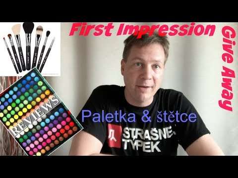 Fun: First Impression - Paletka a štětce