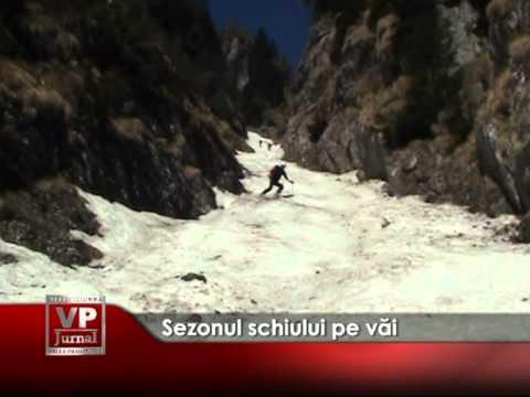 Sezonul schiului pe văi