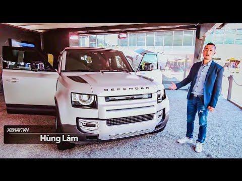 Land Rover Defender 2020 - Chiếc xe huyền thoại off-road có gì mới, cùng khám phá nào @ vcloz.com