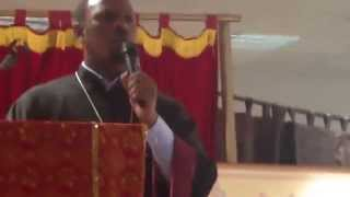 Esu Simeta Hulun Yinegrenal (እሱ ሲመጣ ሁሉን ይነግረንአል) Like Lisanat Kesis Abraham Dibekulu Part 1