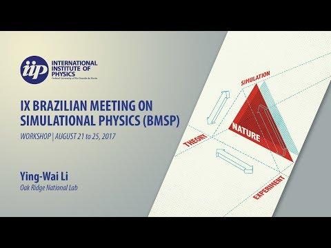 Tutorial 1 - Replica-Exchange Wang-Landau Sampling (Lecture 2) - Ying-Wai Li