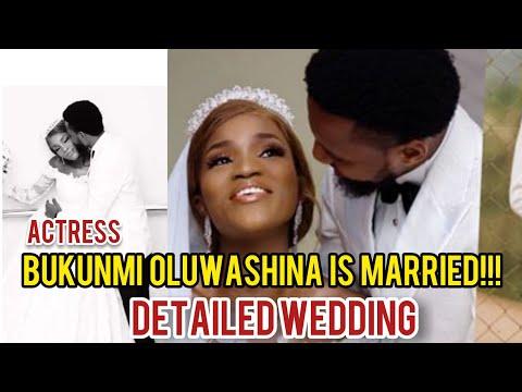 BUKUNMI OLUWASHINA WEDDING // Bukunmi oluwashina is married //See bukunmi oluwashina's marriage