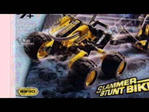 Video New tube of the Technic Slammer Stunt Bike 8240