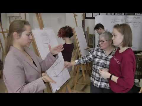 Обросова-Серова Т.В. Методика работы с глухими студентами над длительным рисунком натюрморта