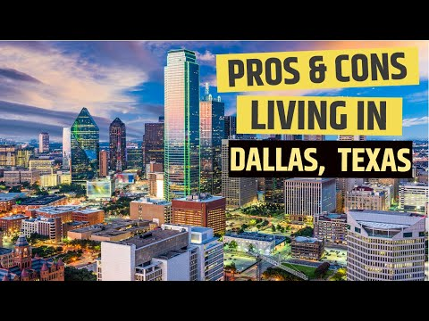 Pros and Cons of Living In Dallas, Texas
