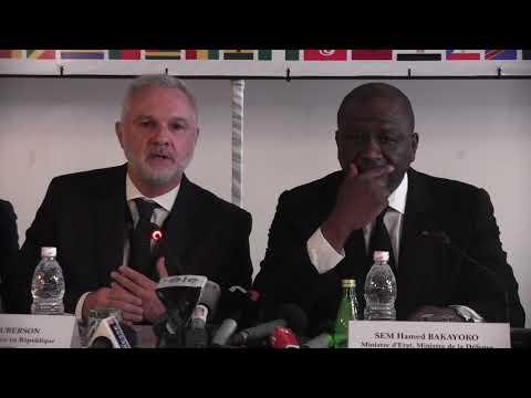 COTE D'IVOIRE: CONFÉRENCE DE PRESSE DU SÉMINAIRE SUR LE TERRORISME