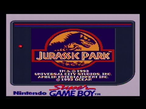 jurassic park game boy cheats