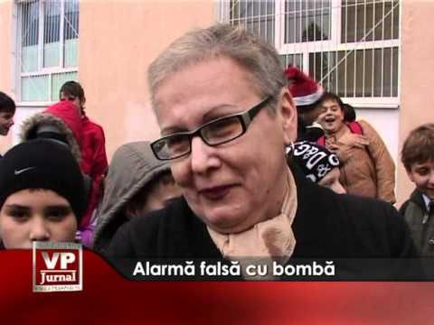 Alarma falsă cu bomba