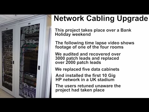 Data Cabling Disaster to clean cabinets in 3 minutes (geekout!)