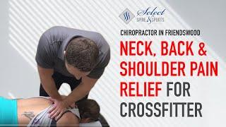 Video Crossfit Athlete Gets Full Body Adjustment (Neck, Back & Shoulder POP) With Chiropractor Friendswood MP3, 3GP, MP4, WEBM, AVI, FLV Februari 2019
