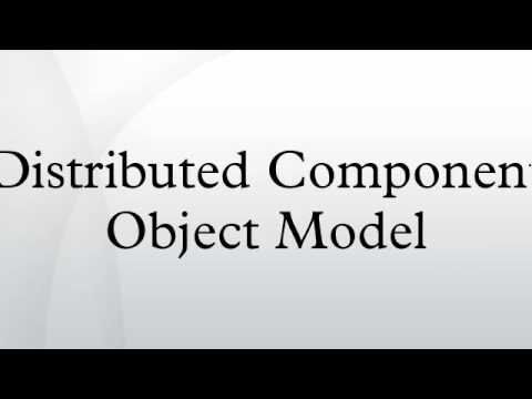 Distributed Component Object Model