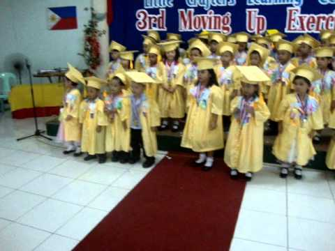 I'm Ready To Go LCLC Graduation Song:  The LCLC kids of all levels sang the song entitled I'm Ready To Go last March 21, 2013 at  Mayfair Plaza, 13th Lacson Street, Bacolod City on our 3rd Moving Up Exercises.