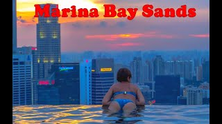 THE BEST IN SINGAPORE: Marina Bay Sands (Singapur) HOTEL with Infinity Pool