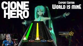 Video Hatsune Miku - World Is Mine - Clone Hero 100% MP3, 3GP, MP4, WEBM, AVI, FLV Maret 2018