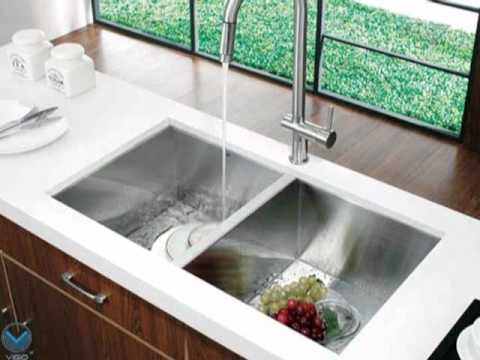 Video for 32-Inch Undermount Stainless Steel 16 Gauge Double Bowl Kitchen Sink