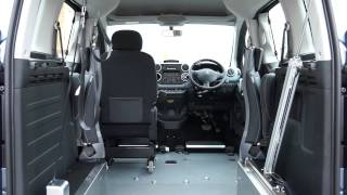 Peugeot Impulse – Drive from Wheelchair and Up-front Passenger Vehicle