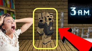OMG! NEVER Playing Minecraft Pocket Edition at 3:00 AM EVER AGAIN! // MCPE at 3:00 AM. Playing Minecraft Pocket Edition at 3:00 AM using the SEED 123!!! Can you find ENTITY 303 in Minecraft Pocket Edition at 3:00 AM??? Do NOT try this at home! You might even run into Herobrine in Minecraft Pocket Edition when you play it at 3 AM in the morning AKA the Devil's Hour. Keep away and go to sleep :D, Playing Minecraft Pocket Edition at 3:00 AM can be a hazard. Do NOT try this at home! Today, we hunt for a possible Herobrine in Minecraft Pocket Edition. Maybe Entity 303 or LICK in Minecraft Pocket Edition! Do NOT play Minecraft Pocket Edition at 3:00 AM!!! It can be dangerous so if you do, play it at your own risk because weird things may occur. Herobrine is no longer in the Minecraft Pocket Edition changelog so we are looking if ENTITY 303 exists in Minecraft Pocket Edition. These creepypastas are freaking me out, but I'm doing this so you guys are entertained and so you don't have to do it.This wan only for fun guys, orginal video - https://www.youtube.com/watch?v=FNWabrip4Wk