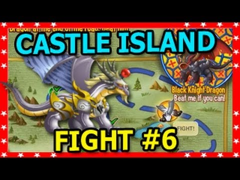 CASTLE ISLAND DRAGON CITY Battle 6 with Archangel Dragon and Petroleum Dragon