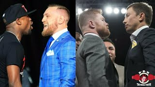 Mayweather-Mcgregor vs Canelo-Golovkin PPV battle! Vote on who wins