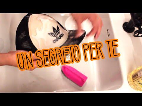 Un segreto per lavare i cappelli con visiera