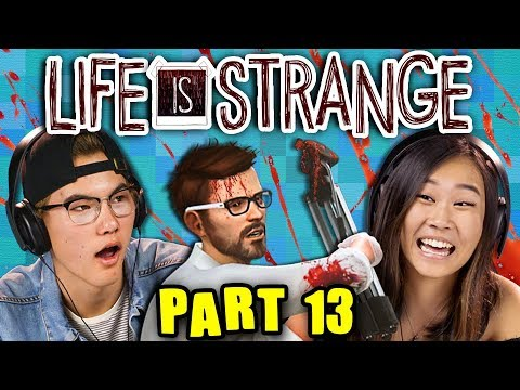 END OF THE WORLD! | LIFE IS STRANGE - Part 13 (React: Gaming) (видео)