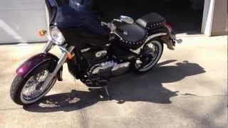 7. Stock Pipes vs. Cobra Slash Tips on 2012 Suzuki Boulevard C50T Part 1