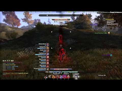 Elder Scrolls Online - Magicka Nightblade PvP Solo/Small scale - 1.6/2.0
