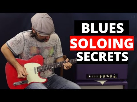 Blues Soloing Secrets – Unlocking The Pentatonic Scale – Guitar Lesson