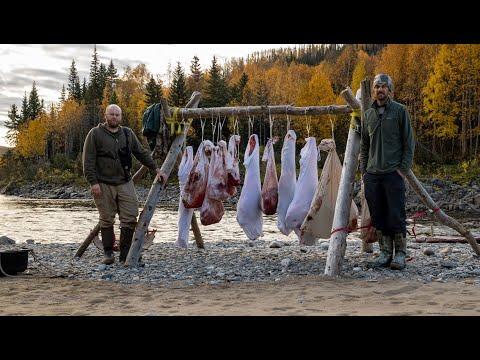 2020 Alaskan Meat Moose Hunt with Mini Jet Boats!