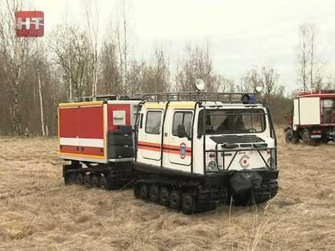 Подразделения МЧС и сотрудники лесхозов активно готовятся к периоду лесных пожаров