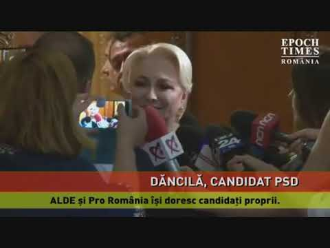 Viorica Dăncilă, desemnată candidatul PSD la prezidențiale