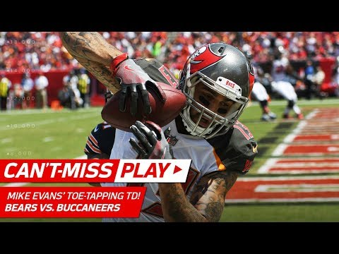 Mike Evans' Toe-Tapping TD After Bucs Recover Bears Fumble | Can't-Miss Play | NFL Wk 2 (видео)