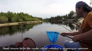 2014.06.21_Ай да фидер #3_Рыбалка на реке Ампута
