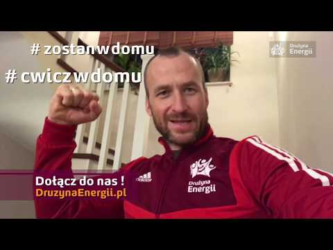 #zostańwdomu i #ćwiczwdomu z mistrzami polskiego sportu - WF w domu tylko z Drużyną Energii!