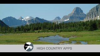 Glacier Wildflowers YouTube video