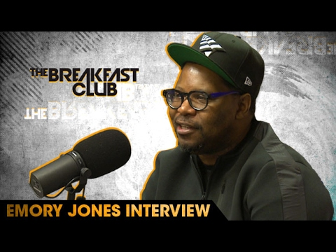 Emory Jones Talks Jay-Z, Roc Nation Apparel & Staying Connected With His Crew While Being Locked Up W/ The Breakfast Club