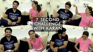 Video Karan Kundra And Anusha Dandekar's 7 Second Challenge | Anusha Dandekar MP3, 3GP, MP4, WEBM, AVI, FLV Oktober 2018