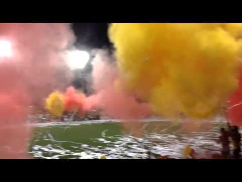 Recibimiento club Sport Herediano - Garra Herediana - Herediano