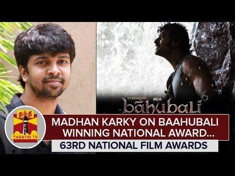 Madhan-Karky-expresses-Happy-over-Baahubali-Winning-National-Award--Thanthi-TV