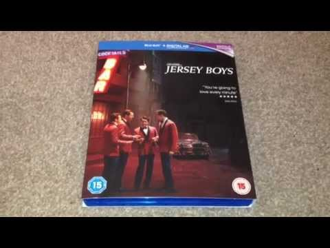 Jersey boys Blu-ray unboxing