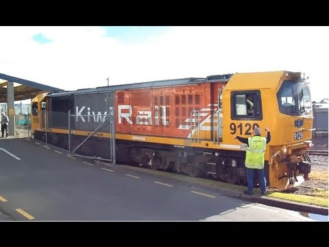 DL Clearance Run On Wanganui & Castlecliff Branches