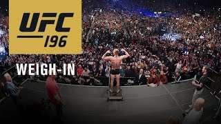 Nonton UFC 196: Official Weigh-in Film Subtitle Indonesia Streaming Movie Download