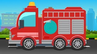 Fire Truck | Formation & Uses | Rescue Truck | Street Vehicle for Kids & Toddlers