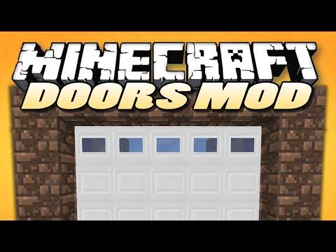 Minecraft Mods | MALISIS DOORS |