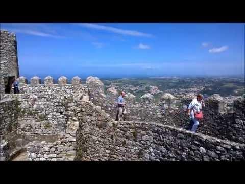 Castle of the Moors Castelo dos Mouros Palace of Sintra Palacio Nacional de Sintra Debussy Deux Arab (видео)
