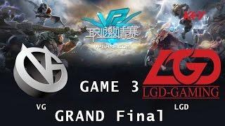 LGD.cn vs VG, game 3
