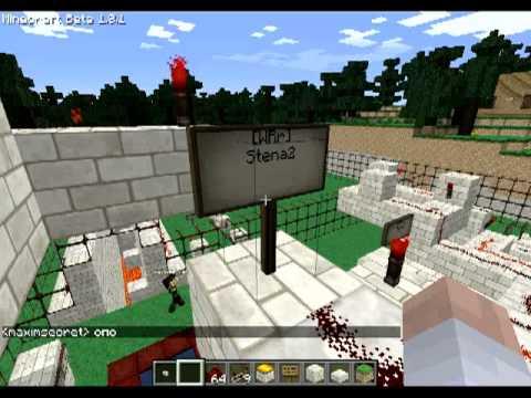 Различные механизмы в Minecraft - 39 серия
